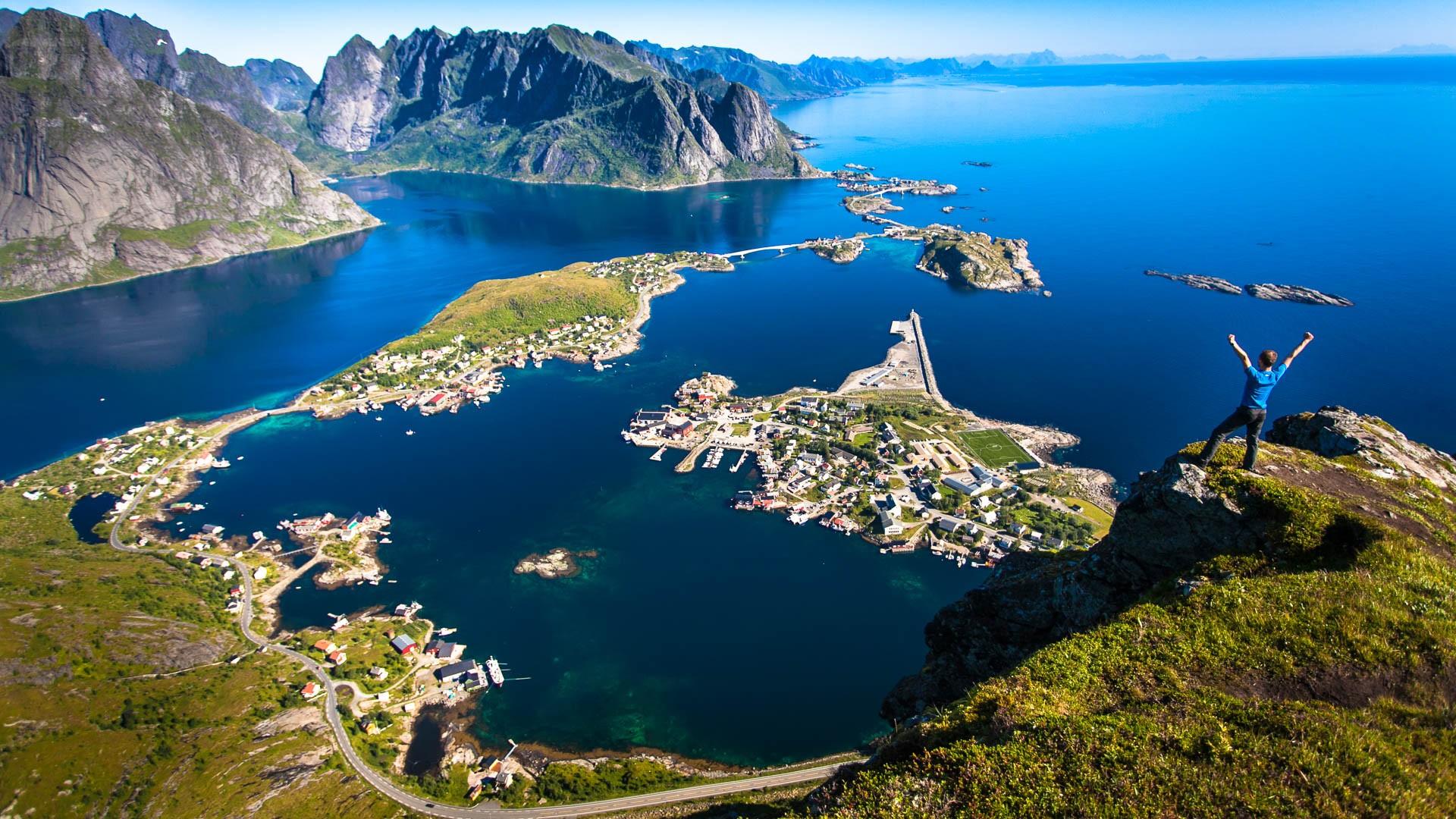 Norwegia Kraj Raj